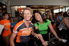 Laurie rocking a Tommie Copper elbow sleeve at a Cycle for Survival event. Hope it was a great ride!