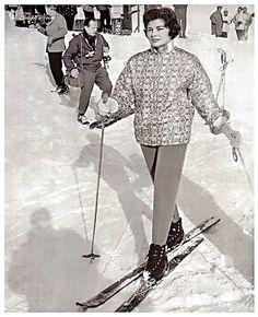 Empress Soraya In Swiss Alps