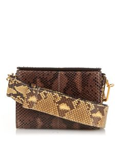 Runway Box small python shoulder bag | Marni | MATCHESFASHION.COM UK