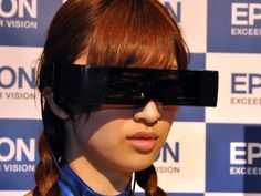 Epson goggle powered by google android