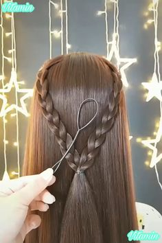 hairstyles for running hairstyles for short hair hairstyles on short hair hairstyles good for swimming hair videos hairstyles extensions to braided hairstyles hairstyles prices Creative Hairstyles, Cool Hairstyles, Fashion Hairstyles, Hairstyles Videos, Hairstyles For Long Hair Wedding, Hairstyles For Girls, Braided Hairstyles Tutorials, Hairstyles 2018, Long Hairstyles