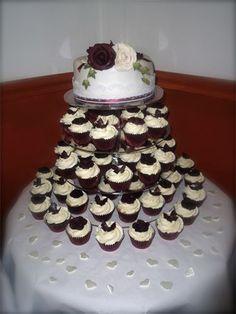 Cupcake tower by kissmycake.co.uk