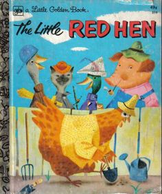 The Little Red Hen (Little Golden Book): Diane Muldrow, J.P. Miller: 9780307960306: Amazon.com: Books