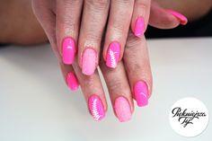 Paznokcie hybrydowe na wiosnę z efektem syrenki :) #nails #nailart #hybridnail