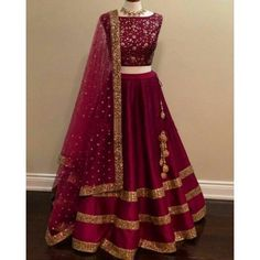 Best 10 Blue Colour Taffeta Silk Fabric Party Wear Lehenga Choli Comes with matching blouse. This Lehenga Choli Is crafted with Embroidery This Lehenga Choli Comes with Unstitched Blouse Which Can Be Stitched… – SkillOfKing. Indian Bridal Outfits, Indian Bridal Lehenga, Indian Designer Outfits, Lehenga Choli Wedding, Simple Lehenga Choli, Indian Wedding Gowns, Indian Designers, Designer Bridal Lehenga, Bridal Sarees