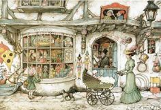 Anton Franciscus Pieck (19 April 1895 – 24 November 1987) was a Dutch painter, artist and graphic artist. His works are noted for their nostalgic or fairy tale-like character and are widely popular, appearing regularly on cards and calendars.