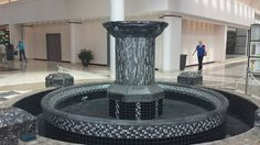 Another amazing fountain restoration project done by Kansas City Masonry @ Road Parkway Mall