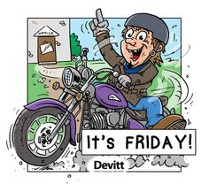It's Friday! Safe riding and don't forget to check the oil level in your @Scottoiler Reservoir!