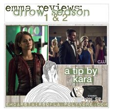 """""""☾✧ emma reviews: arrow season 1 & 2 