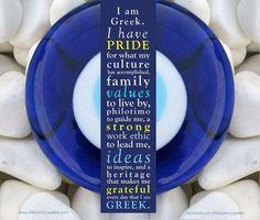 Greek pride and love for family and culture. Greek Girl, Greek Blue, Go Greek, Greek Memes, Greek Quotes, Greek Easter, Greek Evil Eye, Greek Language, Greek Culture