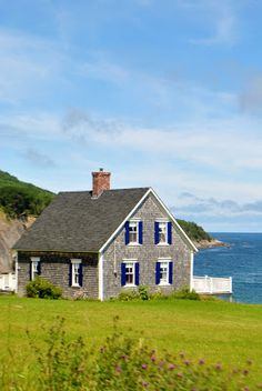 Nova Scotia home, quite perfect and quaint. from The Grower's Daughter blog