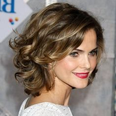 shoulder length curly hairstyles 2015 - Google Search