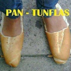 My new chanclas! Yummy! If I get hungry I have something for the road!! #pantunflas #newshoes #savemoney #homemade #homebaked #pandulce #foodfortheroad #latinknowswhatsup #yacarajo