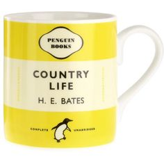 Country Life Penguin Mug Description This book is a collection of Bates writings for the Spectator and is featured as part of the Penguin Mug Penguin Mug, Penguin Books, The Spectator, Matching Gifts, China Mugs, Country Life, Penguins, This Book, Amazon