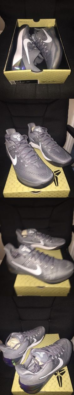 Men 158971: Nike Kobe A.D. Men S Size 11.5 Cool Grey White-Black 852425 010 -> BUY IT NOW ONLY: $119 on eBay!