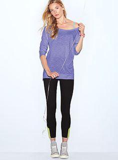 New, mesh yoga pant