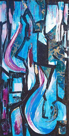 Original Painting- mixed media on canvas - www.shonnawellsart.com