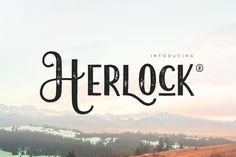 Herlock by vuuuds on @creativemarket