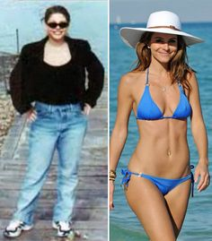 Maria Menounos was size 14 in college. Cut carbs, upped water, added extra spice, and worked her ass off. It shows!!
