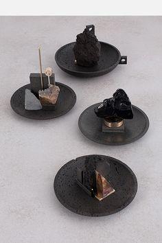 de natura fossilium-mirror-bowls - Formafantasma
