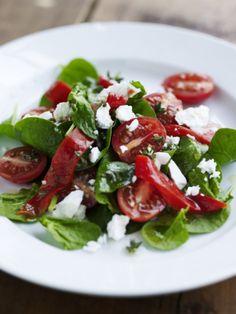 Frisk tomatsalat - www.sæson.dk