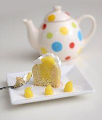 LEMON PIE  Muffin de Vainilla, con Lemon Curd & Merengue Italiano