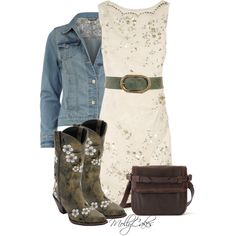 """""""Country Gal"""" by mollycakes on Polyvore"""
