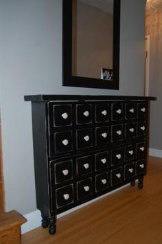 Apothecary Shoe Dresser | Do It Yourself Home Projects from Ana White