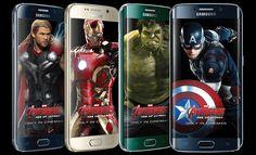 Marvel y Samsung en junte de edición Avengers del Galaxy S6 y S6 Edge - http://www.esmandau.com/172018/marvel-y-samsung-en-junte-de-edicion-avengers-del-galaxy-s6-y-s6-edge/#pinterest