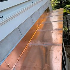 Cedar Roof, St Catharines, Copper Roof, Next At Home, Home Renovation, Ontario, Sidewalk, Stairs, Metal
