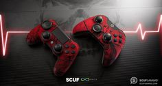 SCUF Infinity Adrenaline Series custom controllers, for Xbox One and PlayStation, are fully-loaded with innovations and patented technology that makes SCUF the choice for over 90% for all Pro Gamers.