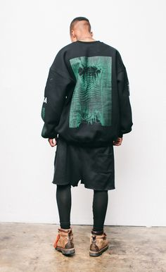 """krxnik: """"Fashion and Streetwear here at Krxnik Repcode """"krxnik""""at Underated Co for a Discount. Cute Fashion, Urban Fashion, Mens Fashion, Fashion Outfits, Street Fashion, Streetwear, Look Con Short, Hood By Air, Mens Tights"""