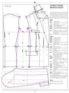 PATRONES -  tailleur patterns - Pesquisa Google