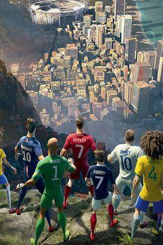 cheap for discount a6ce9 37269 Nike David luiz, neymar jr, cristiano Ronaldo, y muchos mad ♡.