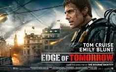Edge of Tomorrow 2014 Major Bill Cage (Cruise) is an officer who has never seen a day of combat when he is unceremoniously demoted and dropped into combat. Cage is killed within minutes, managing to take an alpha alien down with him.