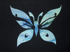 (7) Name: 'Quilting : Butterfly 5 Applique
