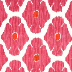 John Robshaw Textiles - Poppy Lotus - Blockprinted Linens - Fabric