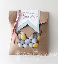 Easter treat bag usi