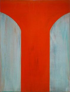 Tad Wiley-'Partial to International Orange'-Sears-Peyton Gallery