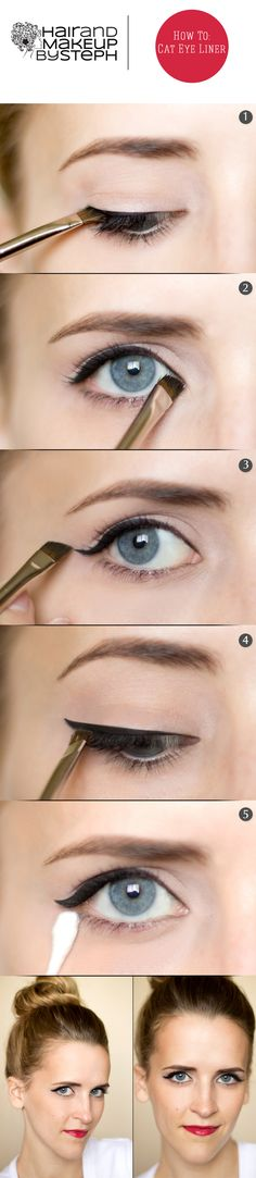 How to do a subtle cat eye.