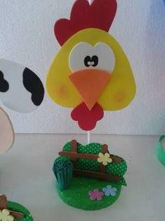 Resultado de imagen para centro de mesa fazendinha #decoracionjardinesfiesta