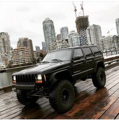 Jeep Zj, Jeep Xj Mods, Jeep Truck, Pickup Trucks, Lifted Jeep Cherokee, Jeep Grand Cherokee, Zombie Vehicle, Old Jeep, Jeep Parts