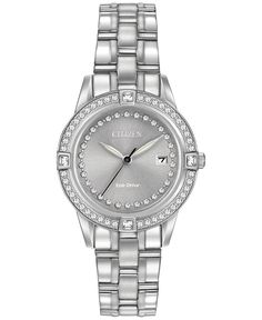 Citizen Women's Eco-Drive Stainless Steel Bracelet Watch 29mm FE1150-58H - Brought to you by Avarsha.com