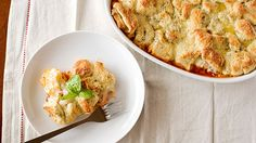 chicken parm casserole. there's no recipe with ingredients/measurements but it's fairly simple.