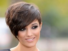Here is a great variation of the oh so beautiful bob that we all love. This is a cross between a bob and short pixie that looks cute and works perfectly with smaller facial shapes.