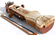 The sārangī (Nepali: सारङ्गी, Hindi: सारंगी, Urdu: سارنگی‎) is a bowed, short-necked string instrument from India as well as Nepal which is used in Hindustani classical music. It is the most popular musical instrument in Western part of Nepal and said to most resemble the sound of the human voice – able to imitate vocal ornaments such as gamaks (shakes) and meends (sliding movements).