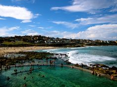 bronte beach, sydney, australia, by christine amoroso of c'est christine