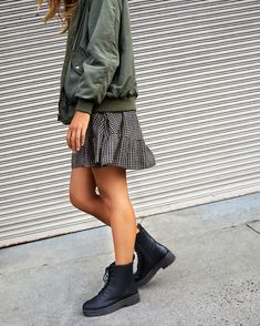 Frankie Lace Up Flatform Online Purchase, Military Jacket, Lace Up, Autumn, Jackets, Outfits, Fashion, Down Jackets, Moda