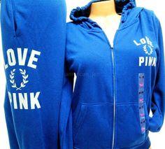 VICTORIAS SECRET PINK Graphic Logo Hoodie Sweater Campus SweatPants M M L Set #VictoriasSecret #TrackSweatSuits