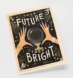Your Future Looks Bright Available as a Single Folded Card or Boxed Set of 8